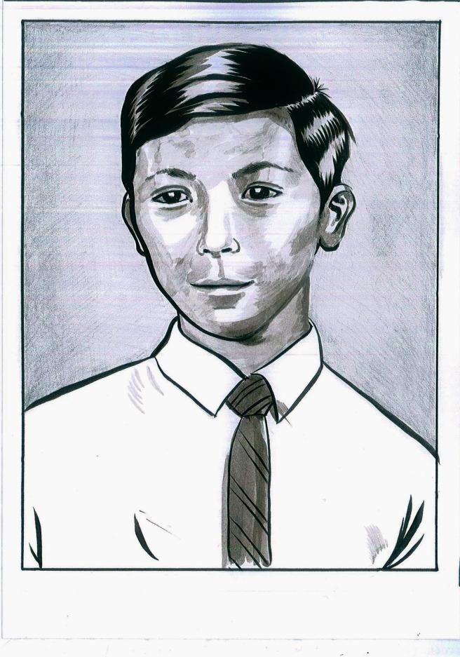 Dad portrait 1