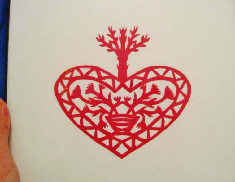 Scherenschnitte heart