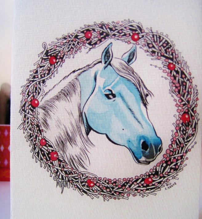 horse wreath 1