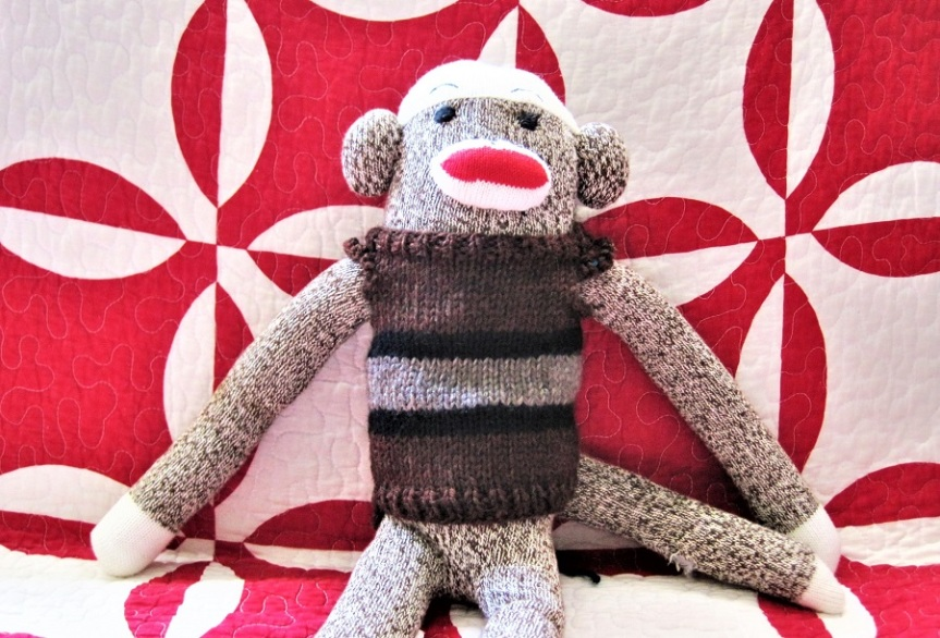 monkey sweater 1