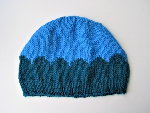 scallop hat