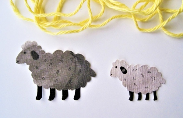 paper sheep